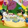 Puzzle Mickey, Goofy & Donald